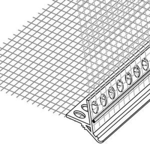 12EJOT PROFIL 600 PVC nulašėjimo profilis