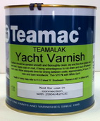 4Teamac Teamalak Yacht Varnish