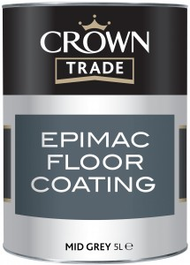 Crown Epimac Floor Paint Grey