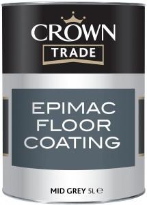 Crown Epimac Floor Paint Grey