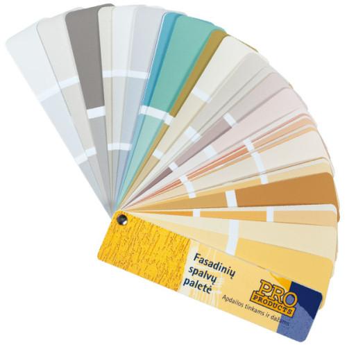 Fasadinių spalvų paletė