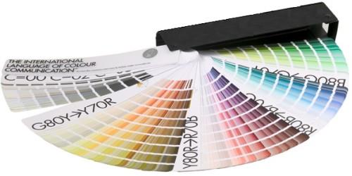 NCS spalvų paletė
